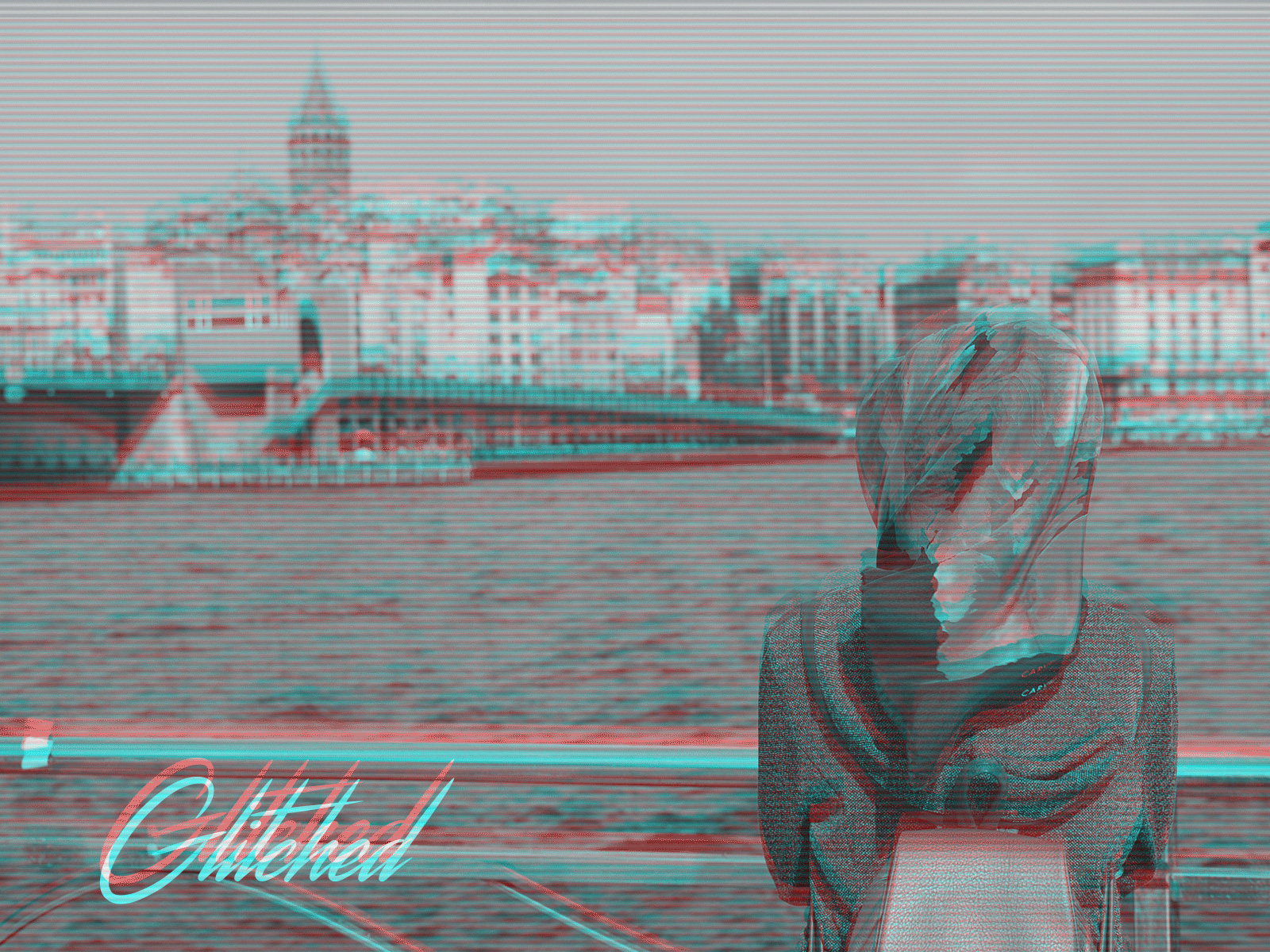 Animated Glitch Effect Action example image 3