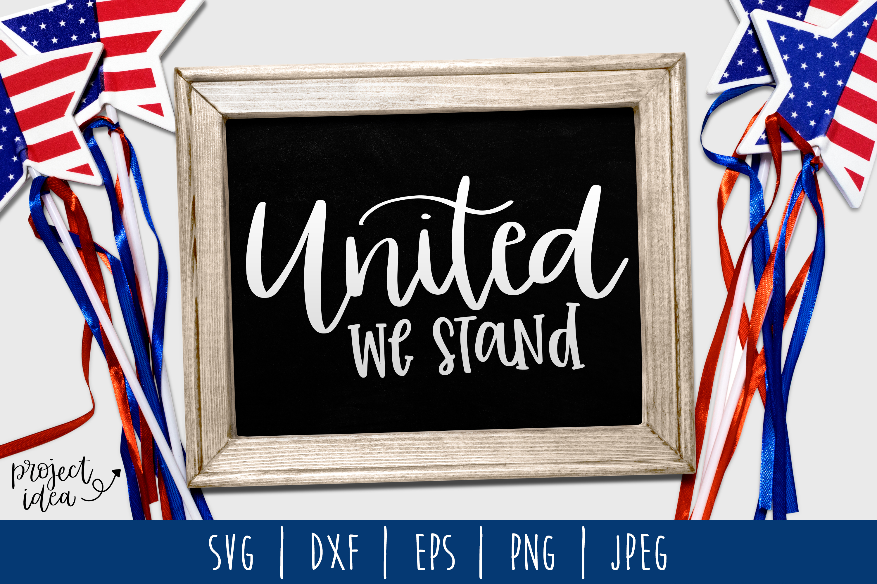 United We Stand SVG, DXF, EPS, PNG JPEG example image 1