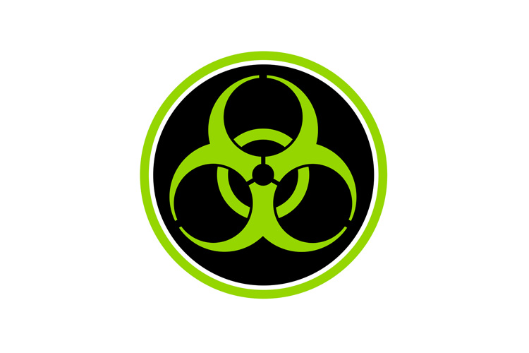 Biohazard Symbol Circle example image 1
