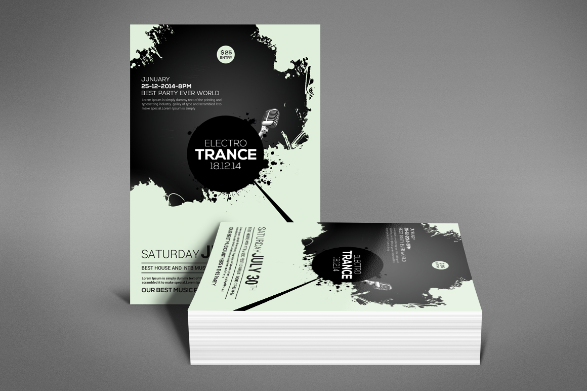 Trance Concert Flyer example image 4