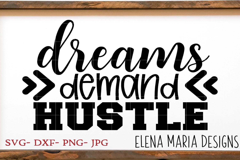 Hustle SVG Bundle, 10 SVG Designs example image 9
