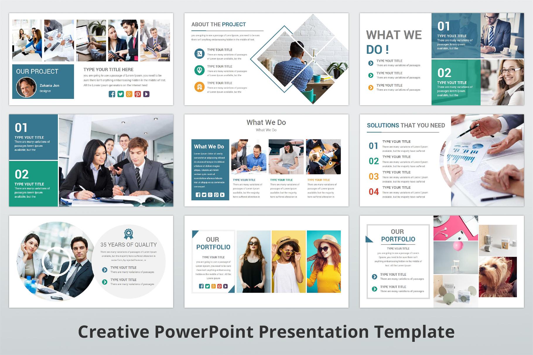 Creative multipurpose PowerPoint Presentation Template example image 5