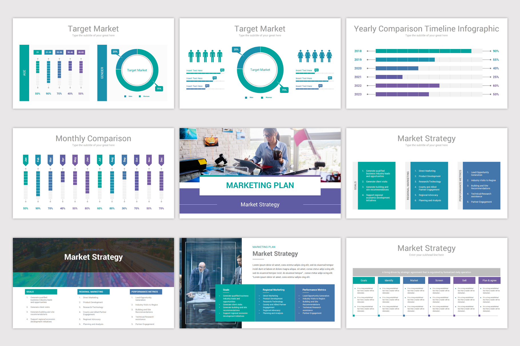 Business Plan Keynote Template example image 11