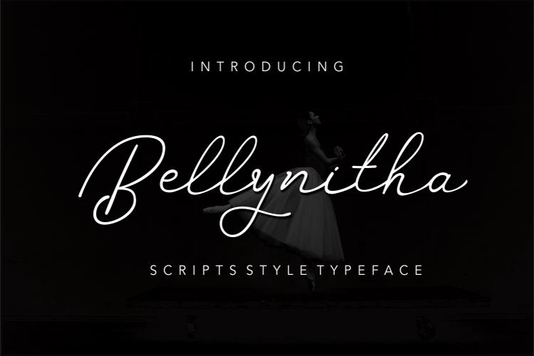 Bellynitha Script example image 8
