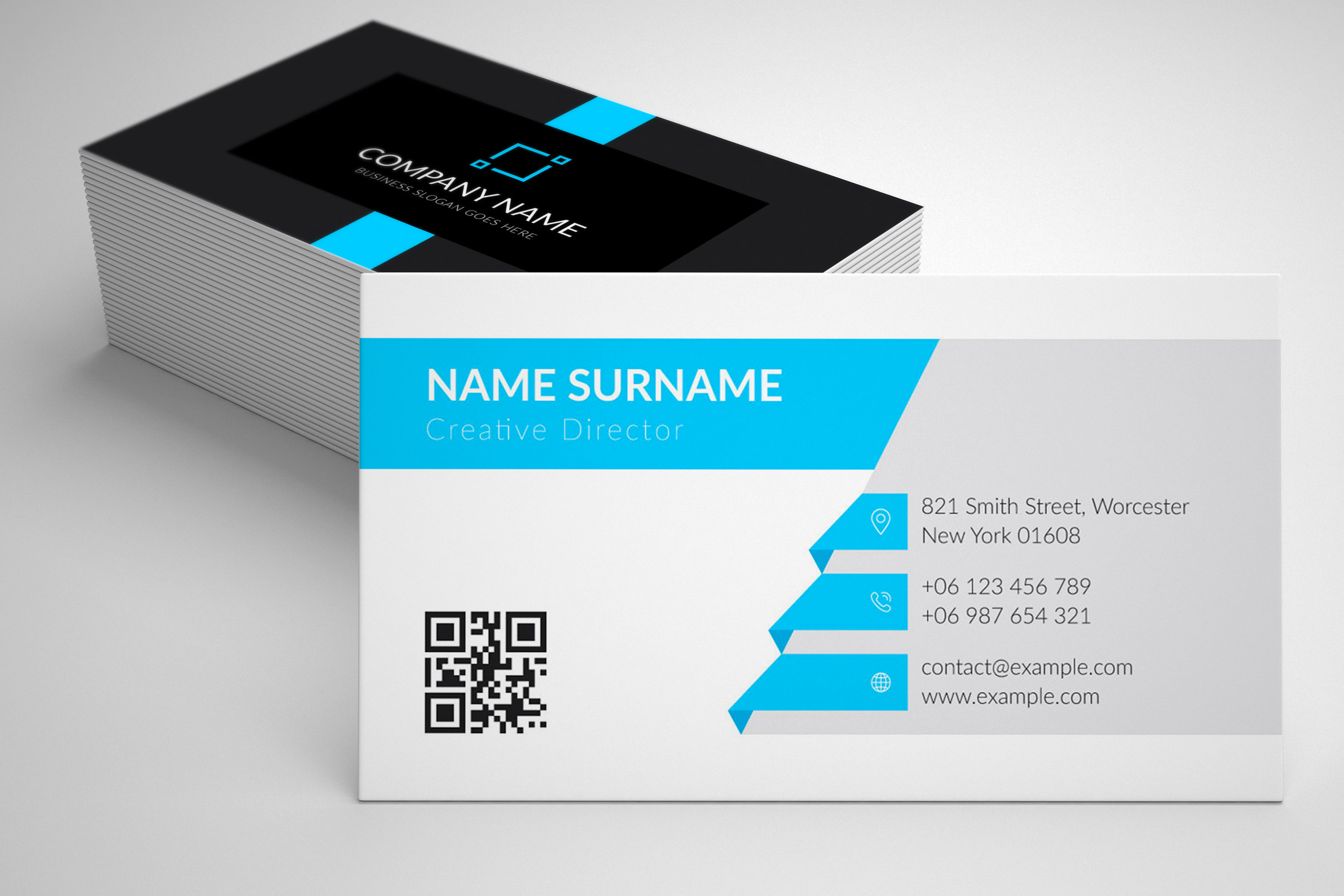Modern and Elegant Business Card Design example image 4