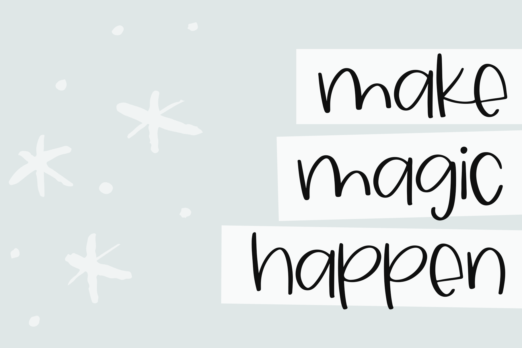 Sky Light - A Quirky Handwritten Font example image 9