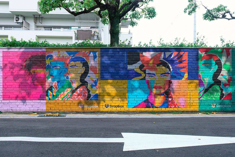 12 Realistic Mural Street Mockup - PSD example image 18