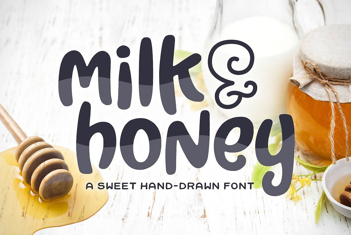 Milk & Honey Font example image 1
