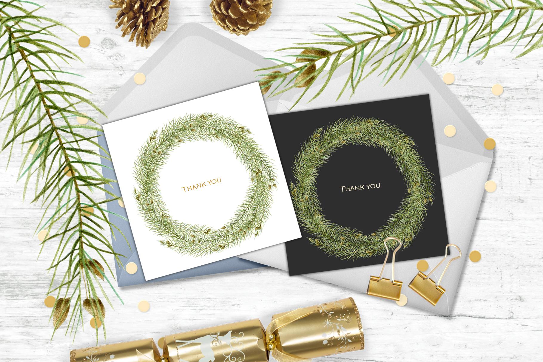 Perfect Christmas. Wreath #4 example image 3