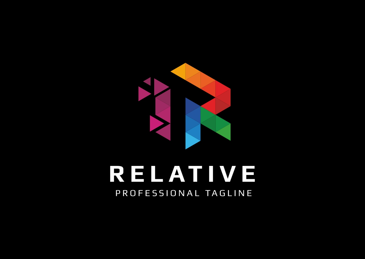 Relative R Letter Logo example image 2