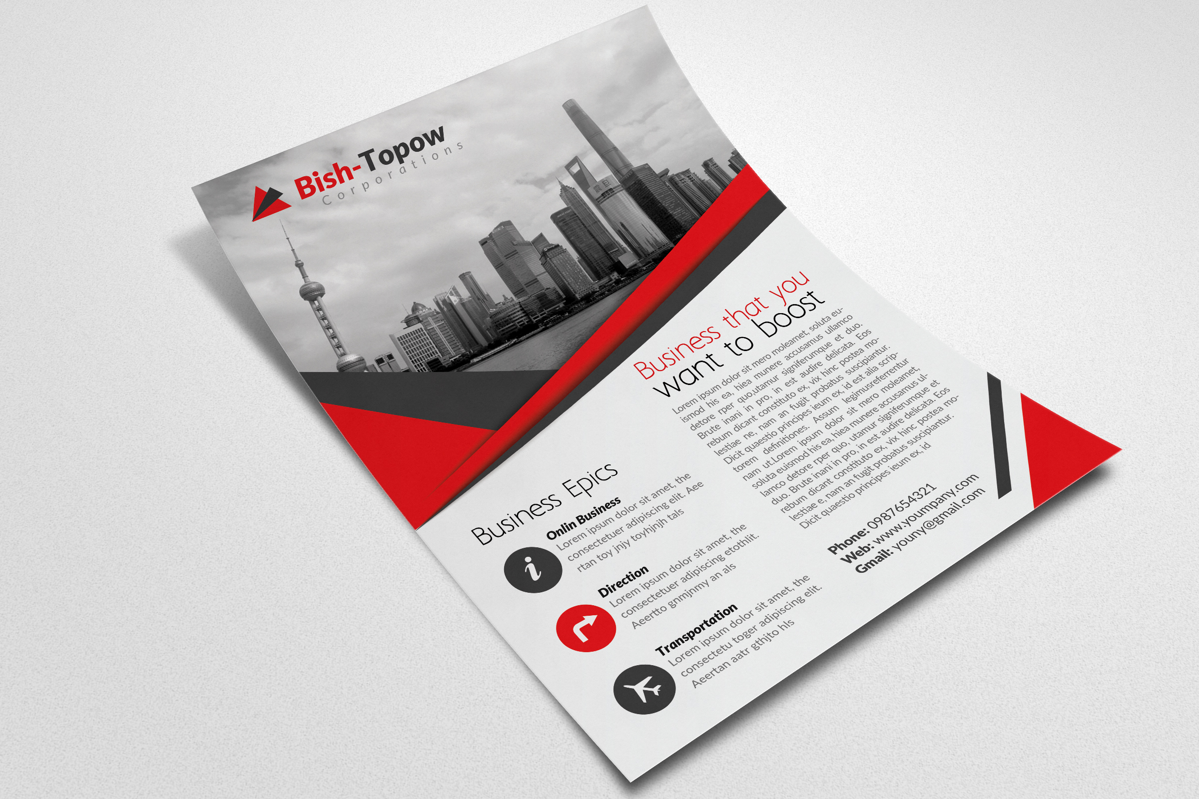 Business Consulting Flyer example image 2