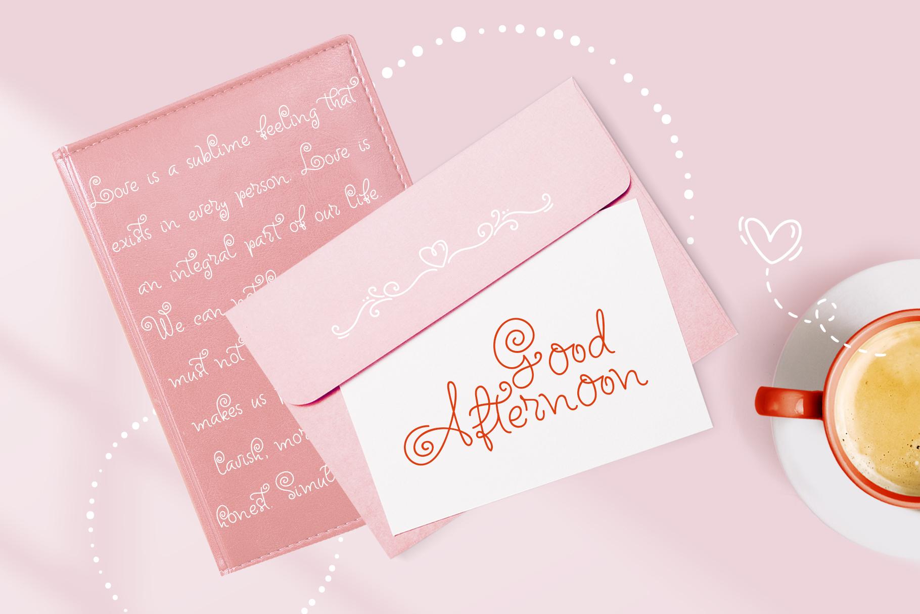 Font Bundle Handwritten Calligraphic example image 16
