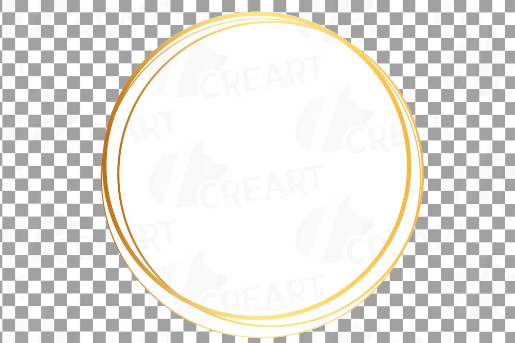 Elegant wedding geometric golden frames, lineal frames png example image 30