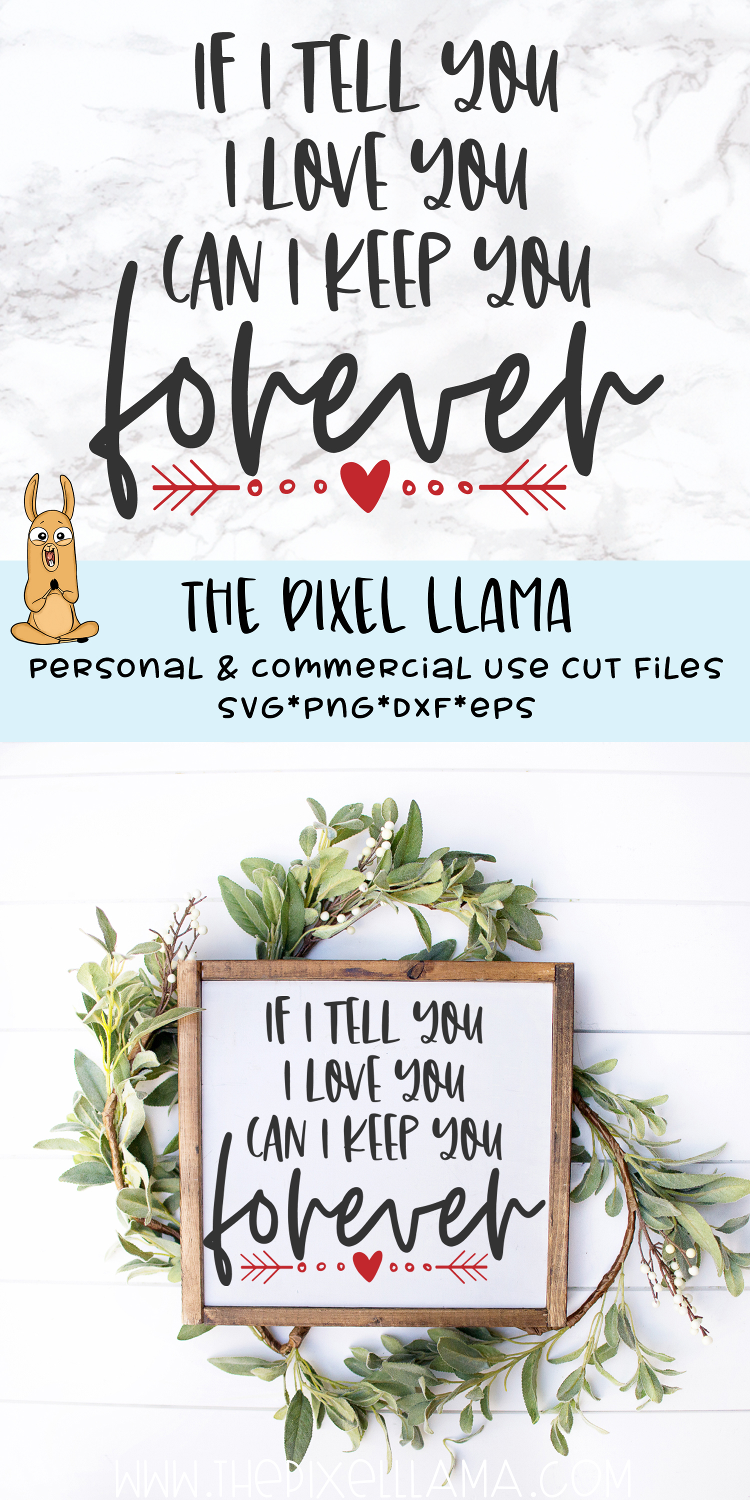 I Tell You I Love You Can I Keep You Forever Valentine SVG example image 2