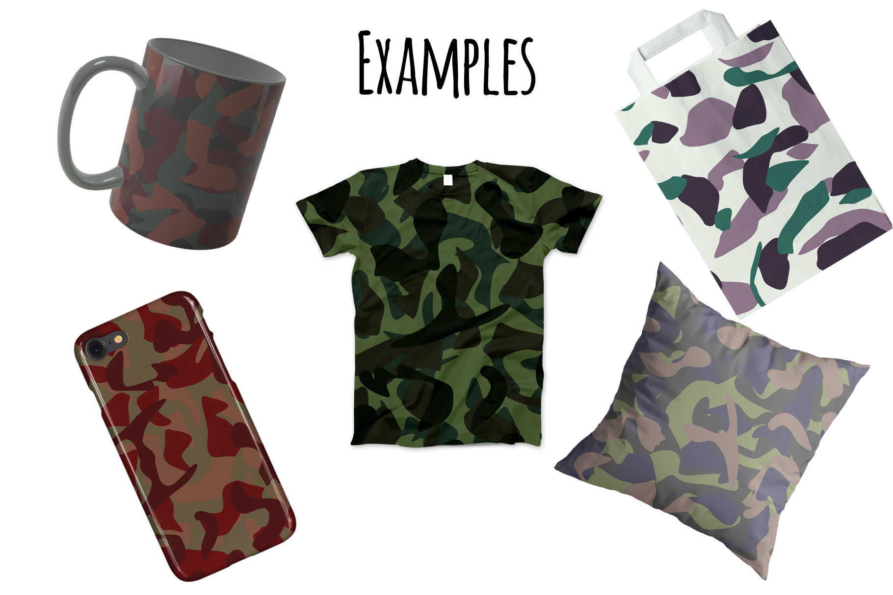 10 Army Camo Patterns Vol.2 example image 2