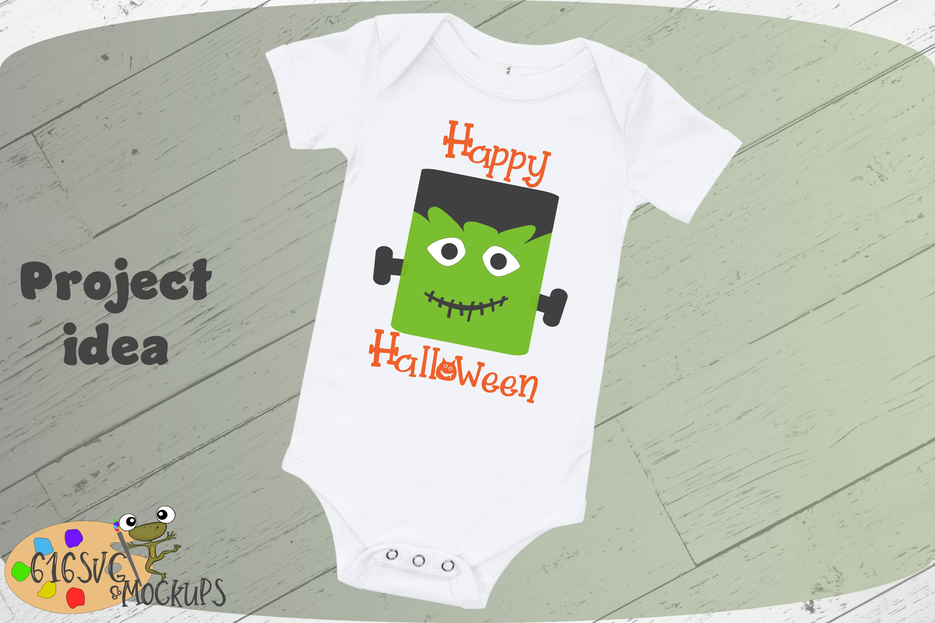 Happy Halloween SVG, DXF, Ai, PNG example image 3