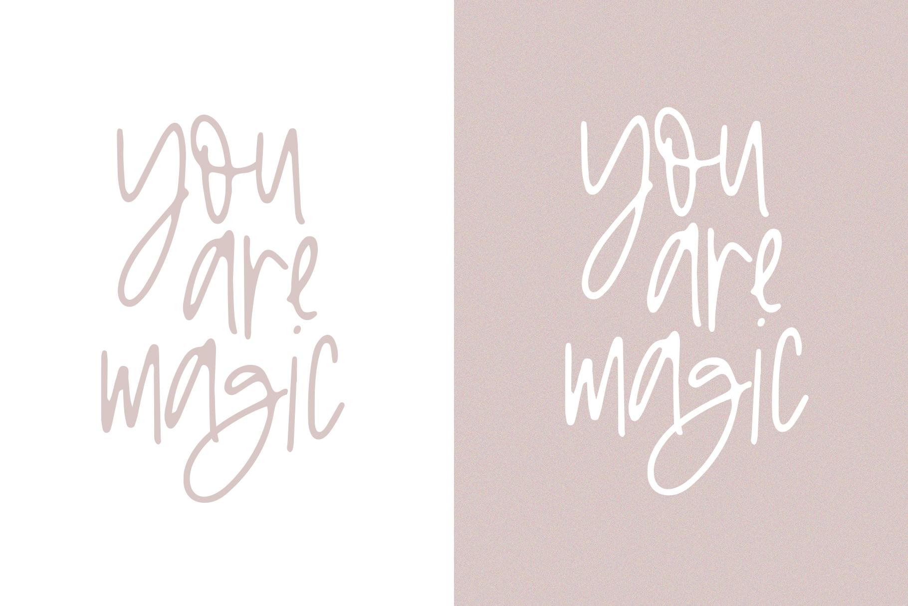 Logan Ann - A Handwritten Font example image 9