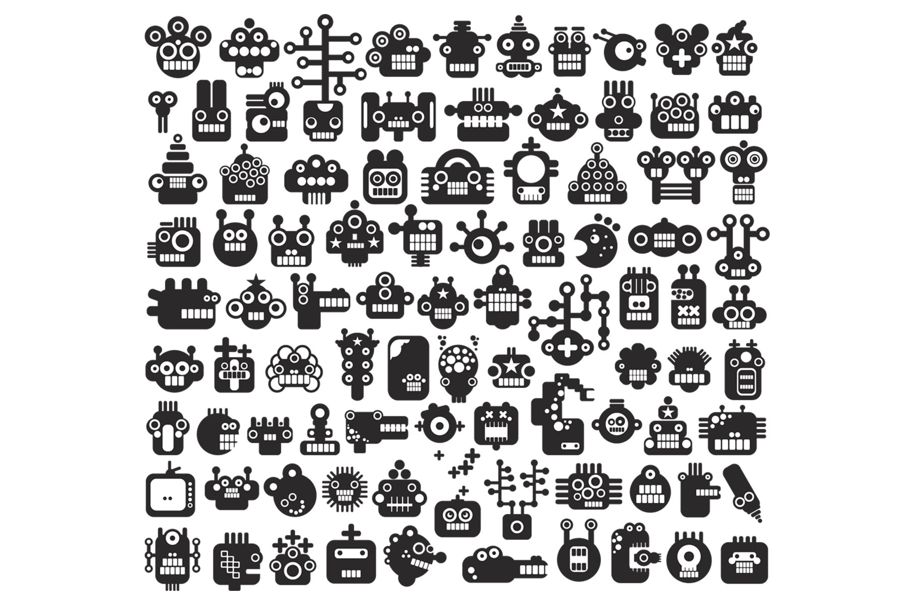 150 monsters patterns example image 2