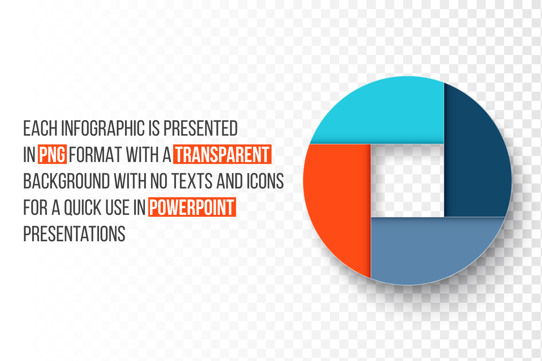 Geometric infographic templates example image 3