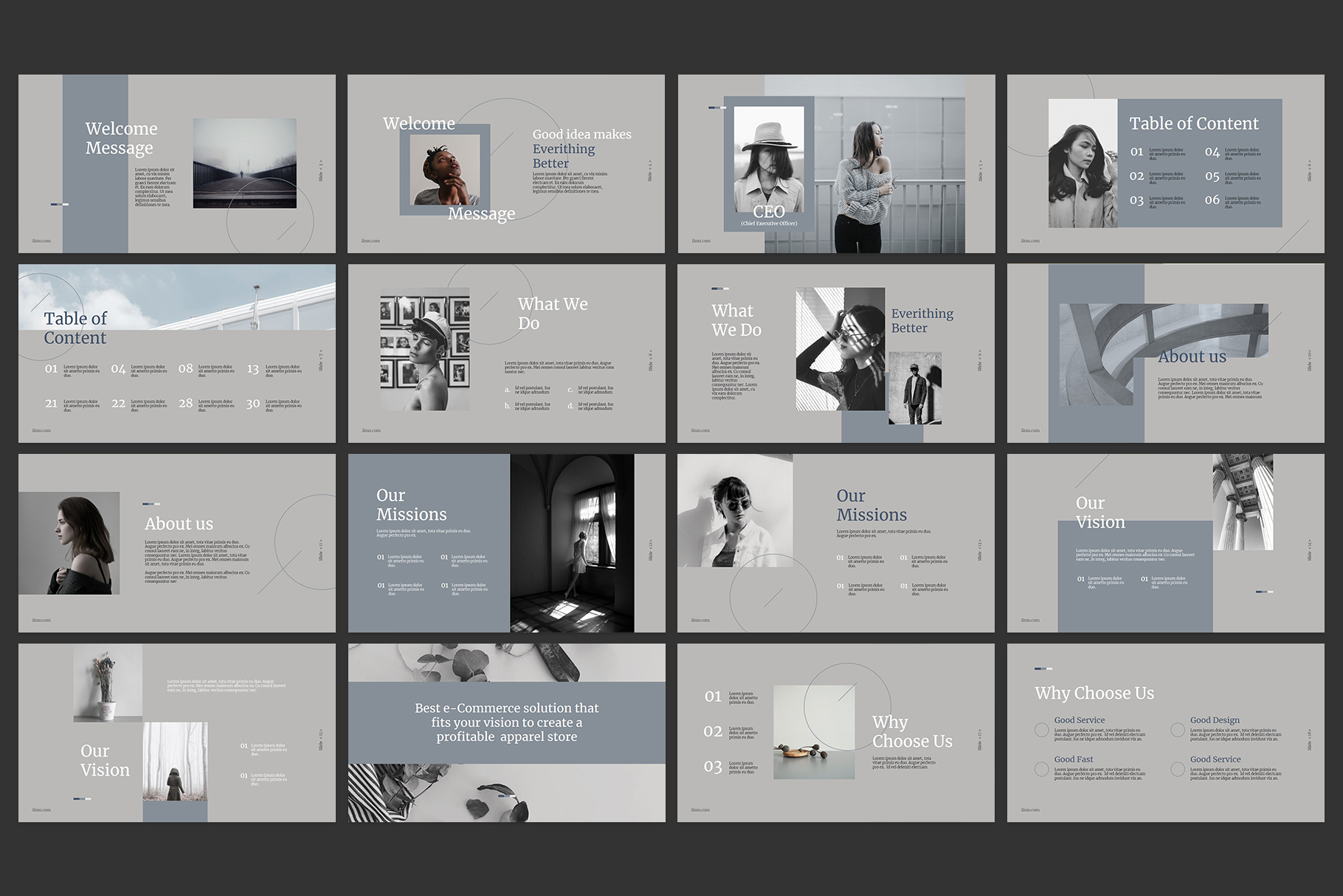Corporate Powerpoint Templates example image 2