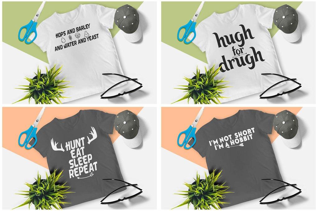 200 Printready Tshirt Design Mega Bundle example image 15