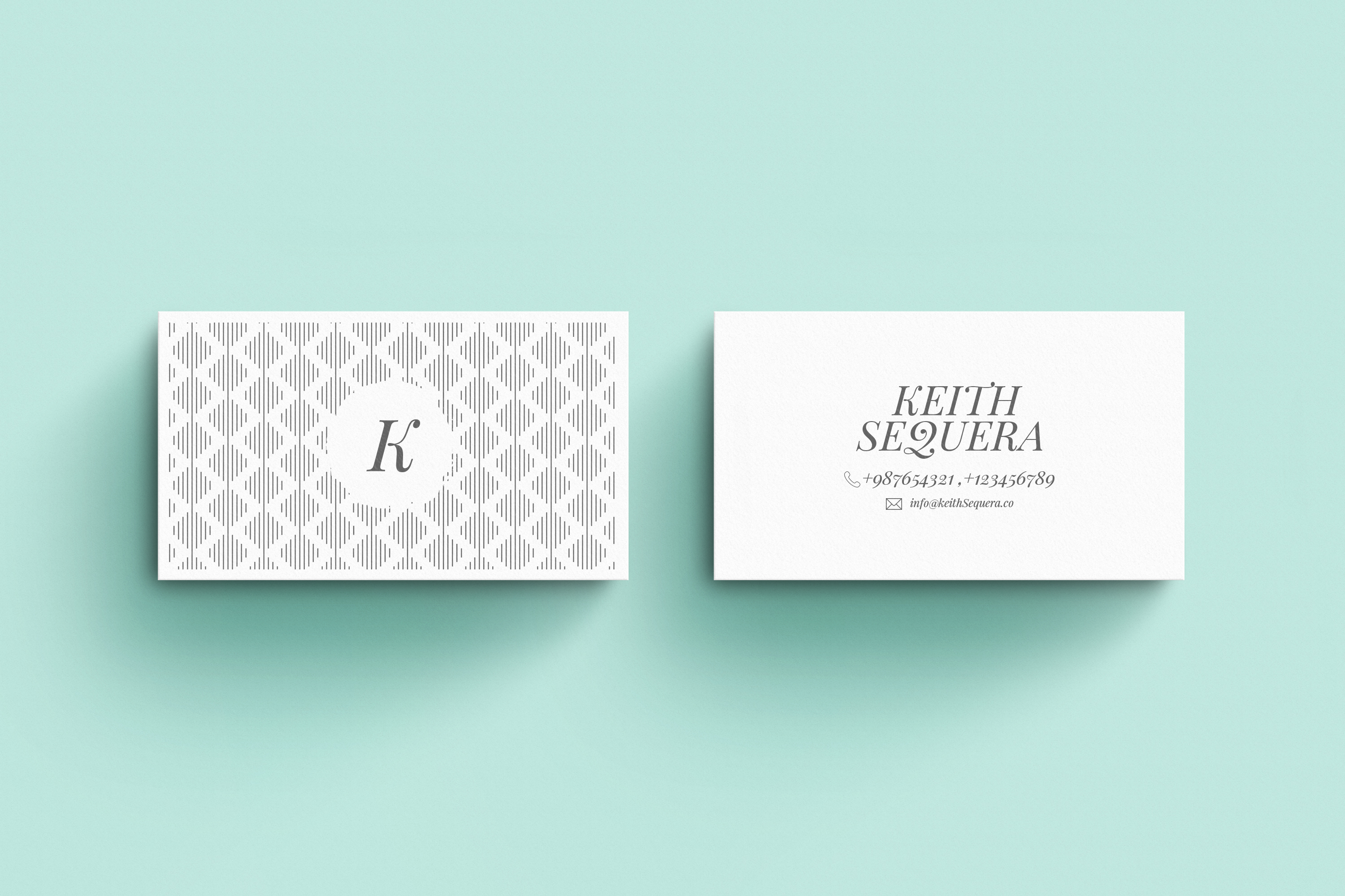Business Card MockUps with Templates example image 4