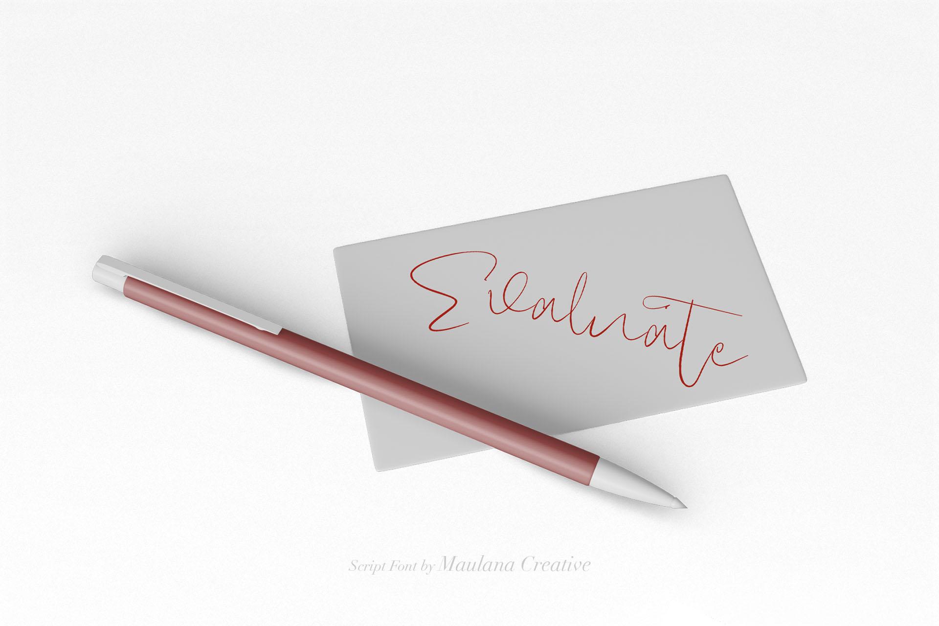 Claristta - Handwritten Brush Font example image 6