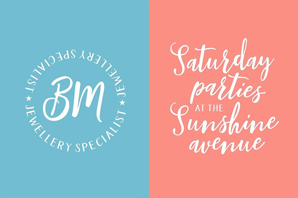 Blishfully Font Duo example image 10