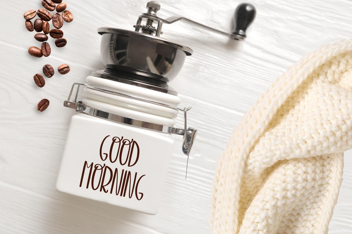 Espresso font example image 3