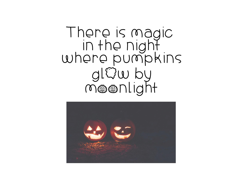 Halloween - A Spooky Handwritten Font example image 3
