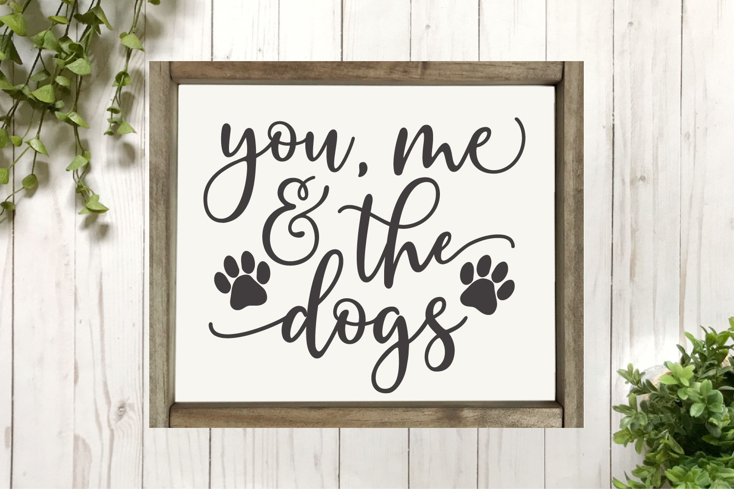 Dog SVG Bundle - Cut Files for Signs example image 4