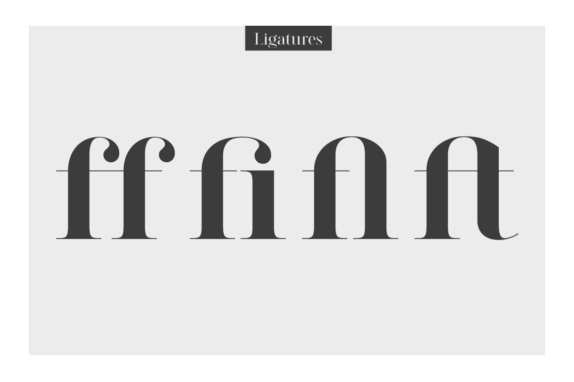 LEGATUM font family example image 9