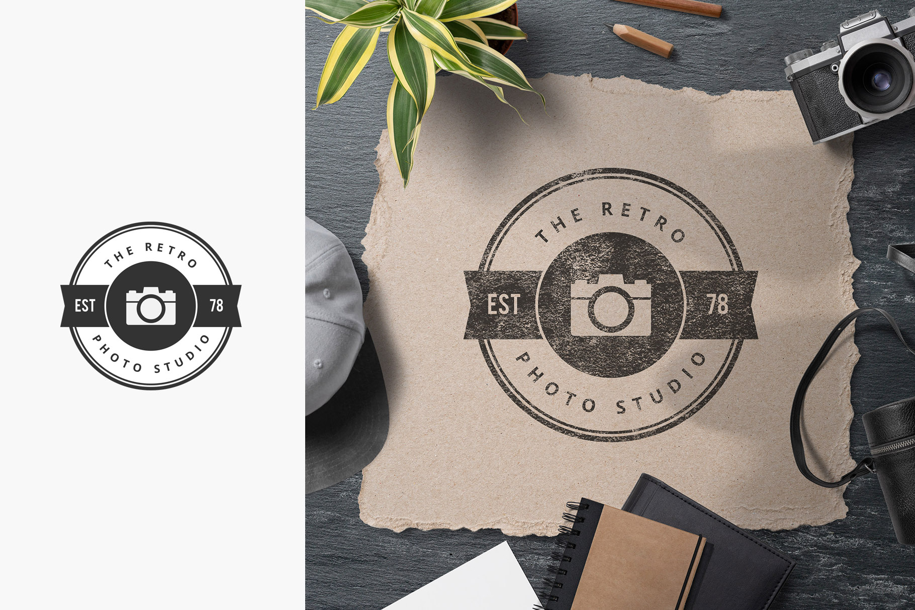 All-In-One Logo Mockup Creator example image 13