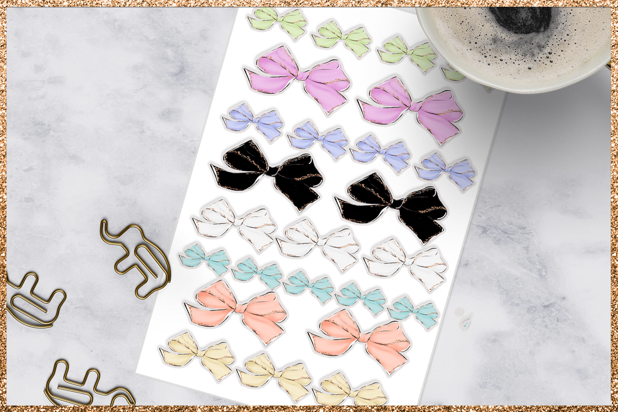 Bows Png Cliparts example image 6