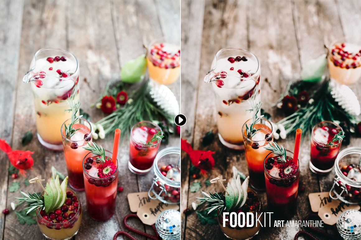 FoodKit - Food Presets for Lightroom & ACR, Desktop & Mobile example image 4