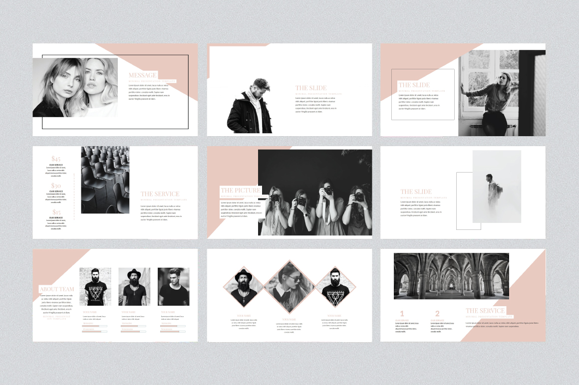 Soffie Keynote Template example image 2