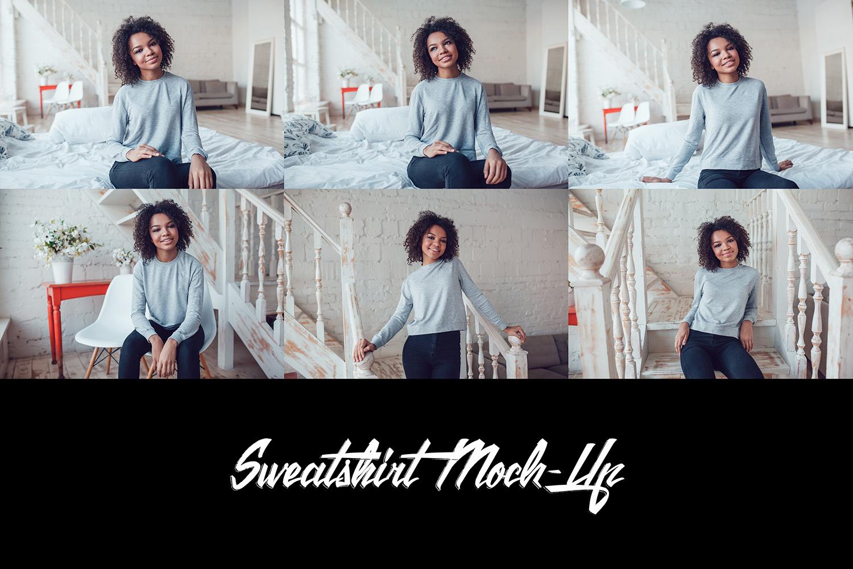 Sweatshirt Mock-Up Vol.5 2017 example image 10