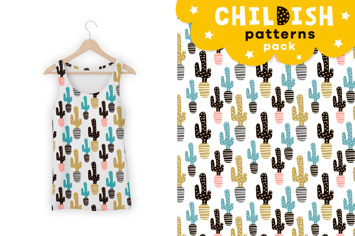 Childish patterns pack vol. 2 example image 8