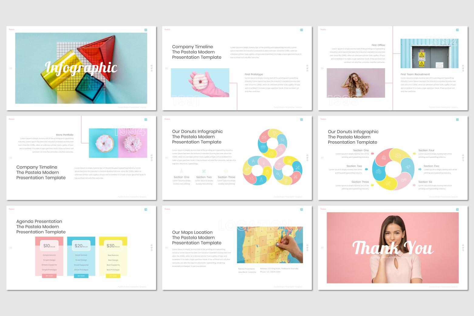 Pastela - Google Slides Template example image 5