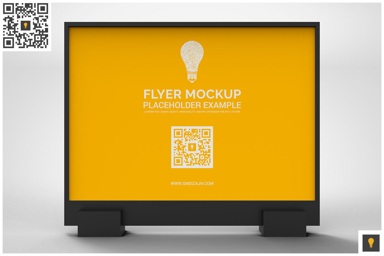 Flyer Display Mockup example image 11