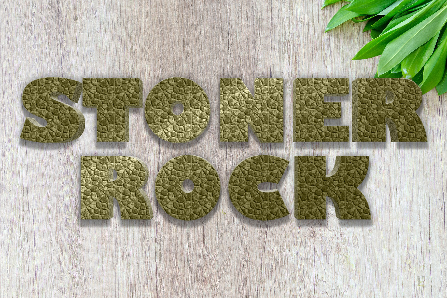 10 Stone / Rock Layer Style for Photoshop example image 8