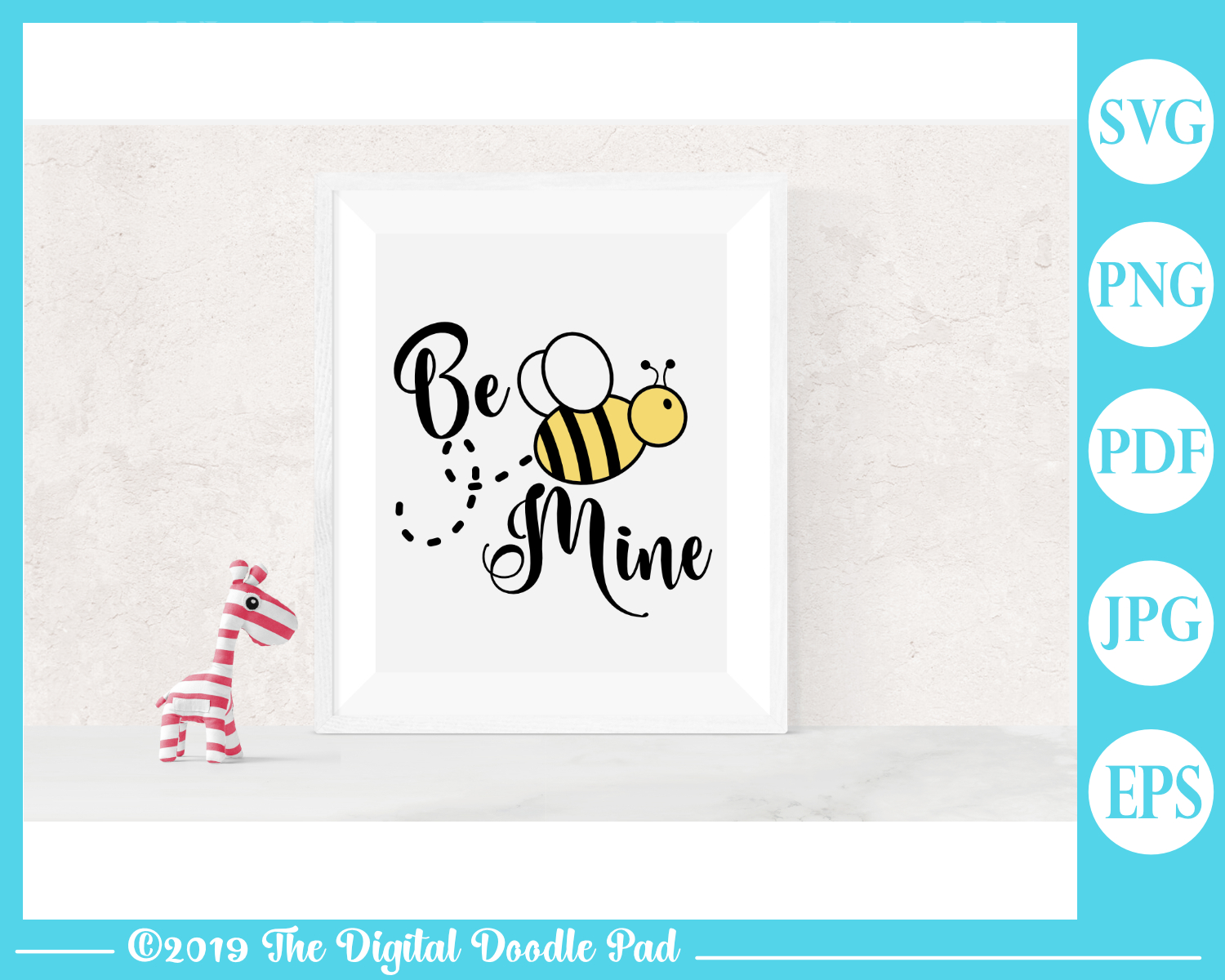 Be Mine by Digital Doodle Pad example image 3
