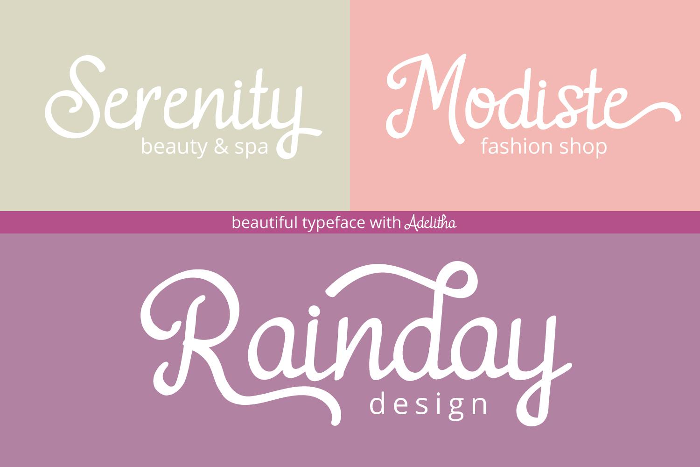 Adelitha Font example image 7