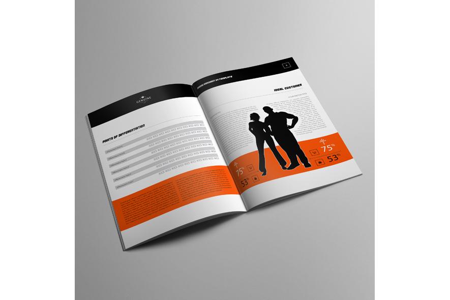 Branding Worksheet A4 Template example image 3