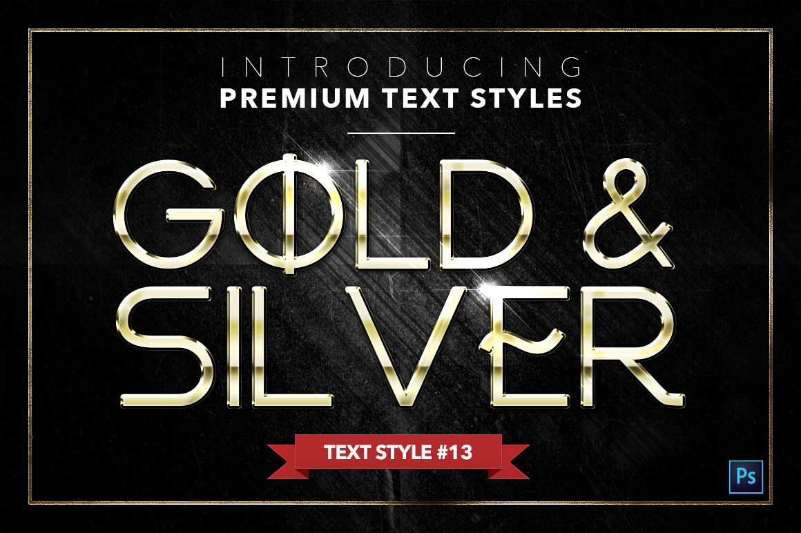 Gold & Silver #4 - 20 Text Styles example image 12