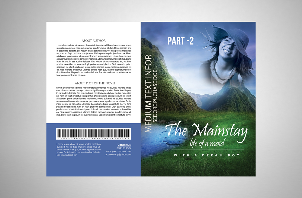 Story Book Cover Template example image 3