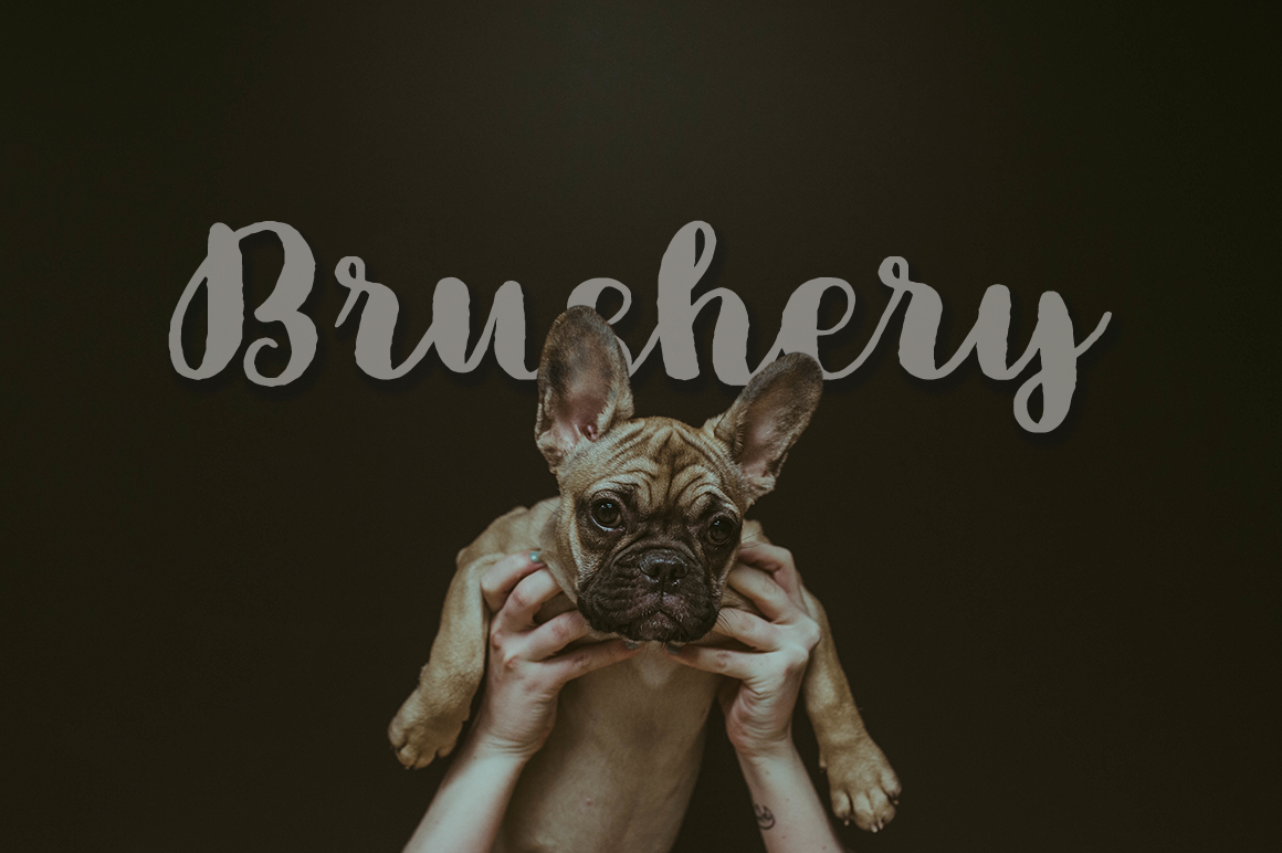 Brushery Font Duo example image 7