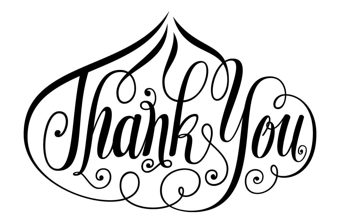 Thank-You-Onion-Shape-Lettering SVG example image 6