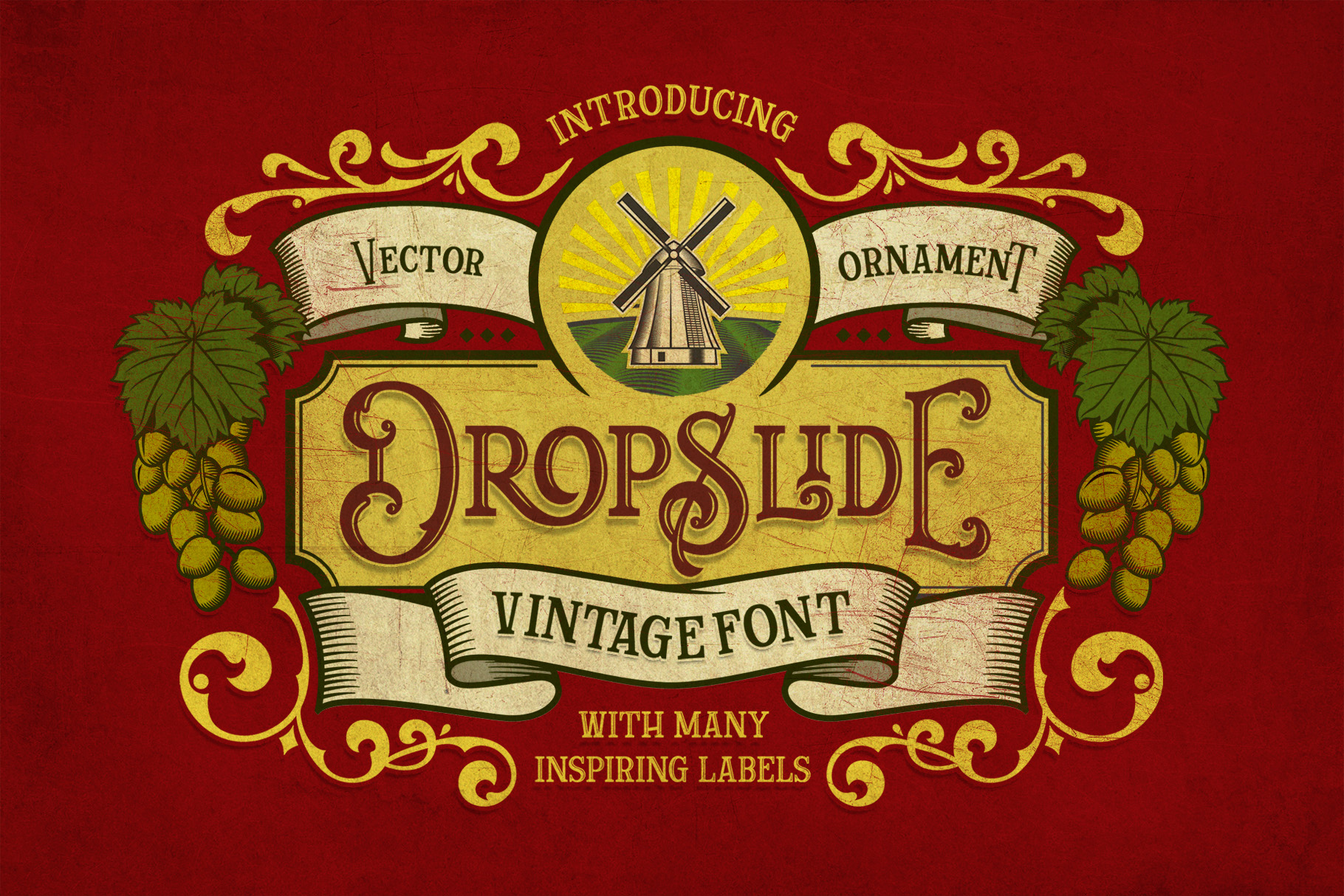 Dropslide Typeface example image 1