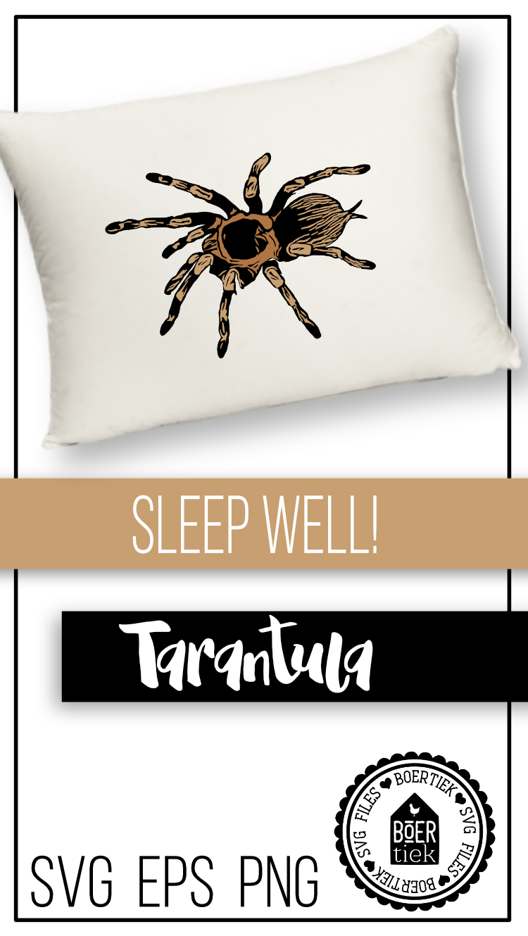 Tarantula SVG cutting file example image 2